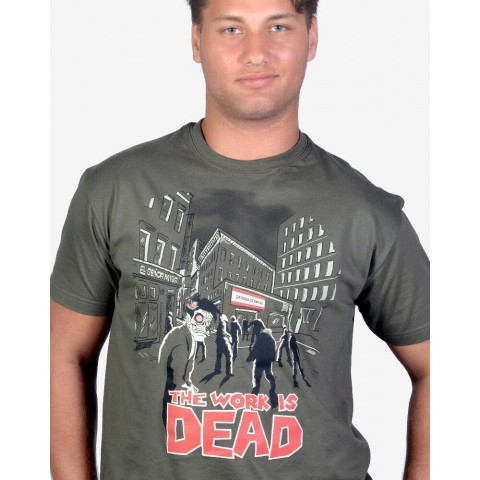 Camiseta Miyagi The work is dead