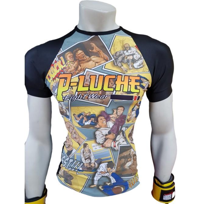 Rashguard P-Luche Infantil BJJ Edition