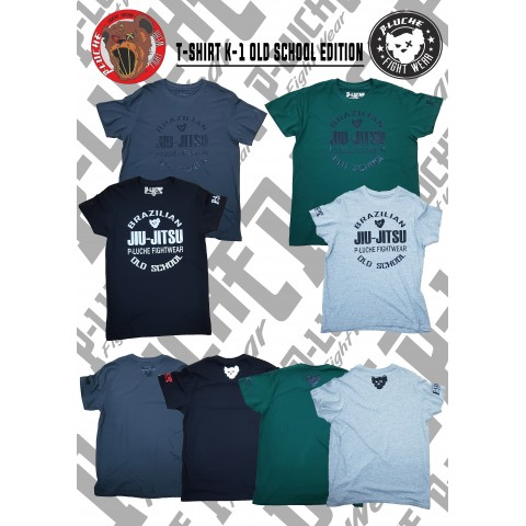 Camisa P-Luche BJJ Old School Edition