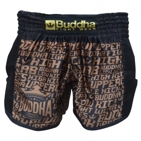 Short Buddha Retro Golden