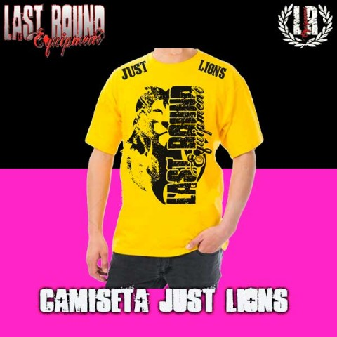 CAMISETA LAST ROUND JUST LIONS