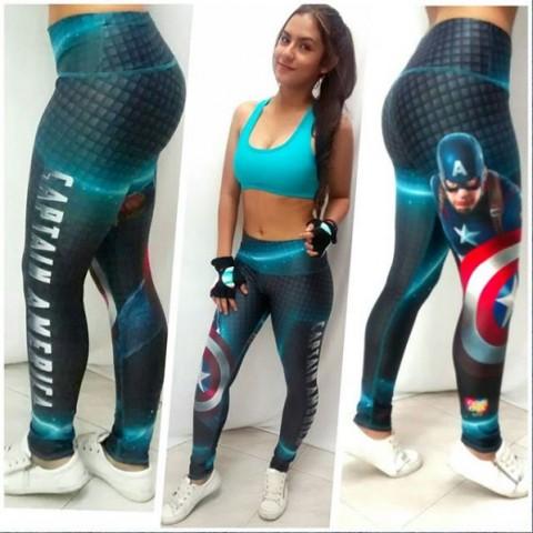 Lycras largas Capitán América 2