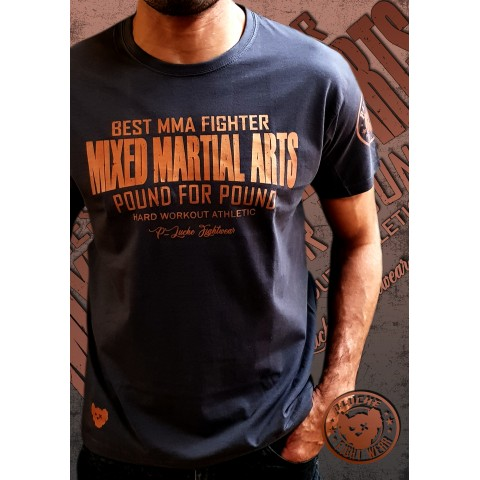 Camisa P-Luche Pound for Pound MMA