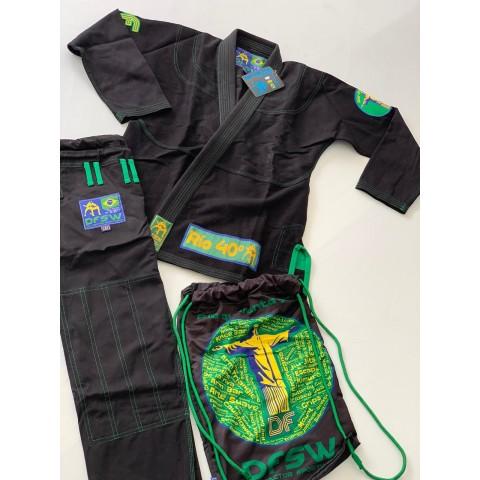 Kimono BJJ Dry Factor Negro