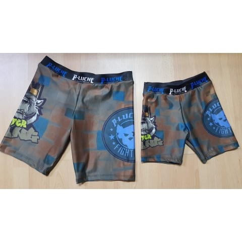 Lycra Infantil P-Luche Fighter King