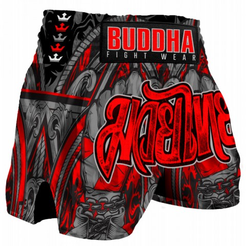 Short Buddha Retro Fight