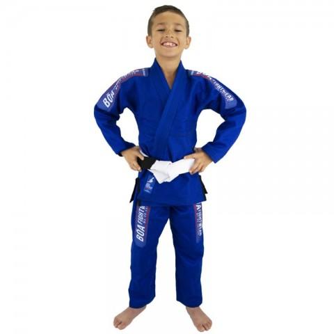 Kimono Bõa Niño MA-8R - Azul