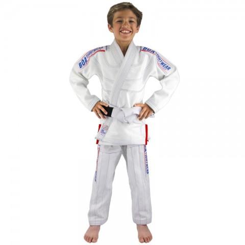 Kimono Bõa Niño MA-8R - Blanco
