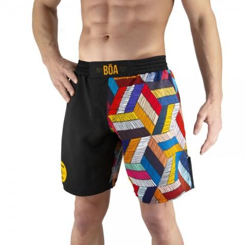 Pantalones MMA Bõa Paranaue Ginga - Negro