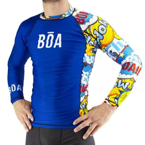Rashguard Bõa Bom Vem - azul