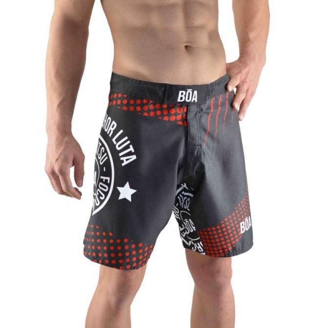 Short MMA Bõa A Sua Melhor Luta Roja