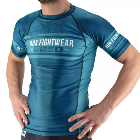 Rashguard Bõa Fighting Spirit Verde