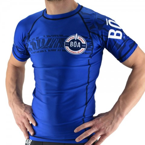 Surf Rashguard Hombre Bõa Surfing Team - azul