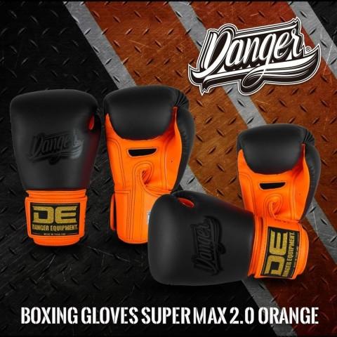 Guantes Danger Supermax 2.0 - Naranja