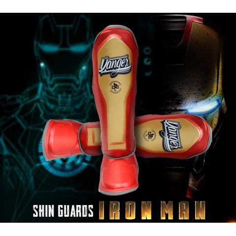 Espinilleras Danger EVO-X - Iron Man
