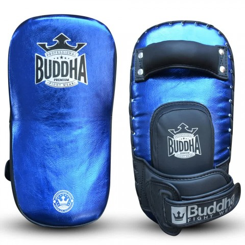 Paos Buddha S Piel Curvados Buddha Pro Velcro Azul Metalic (Par)