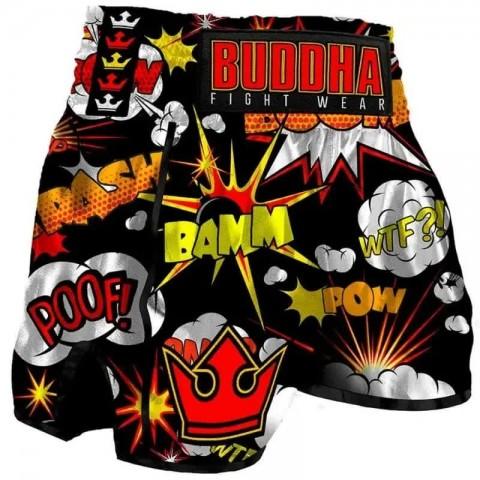 Pantalon Infantil Buddha Retro Baam negro