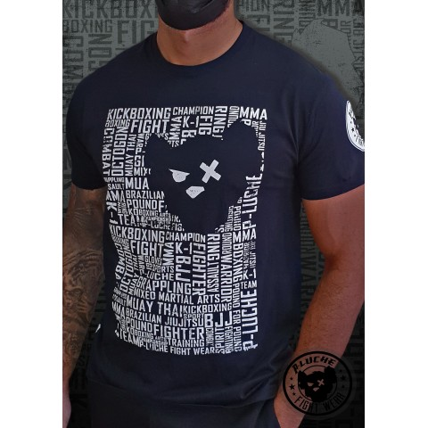 Camisa P-Luche Letters 1 Negra