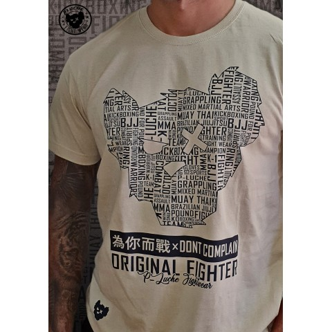 Camisa P-Luche Letters 2 Military
