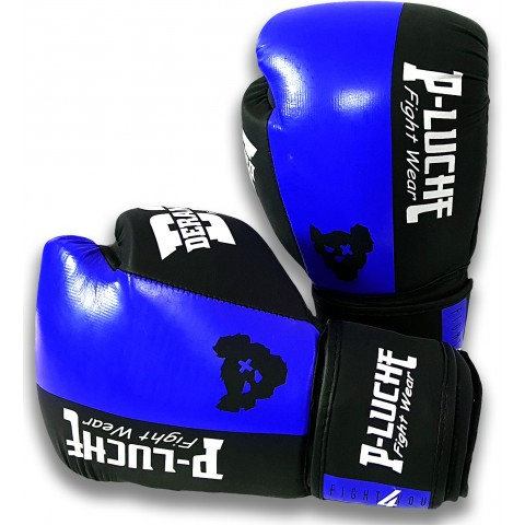 Guantes P-Luche Fight4You Azul