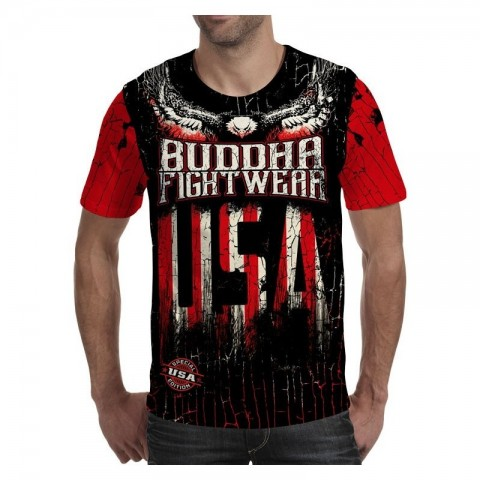Camiseta Buddha Liberty Fighter