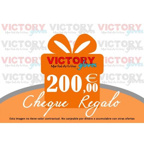 Tarjeta Regalo de 200 €