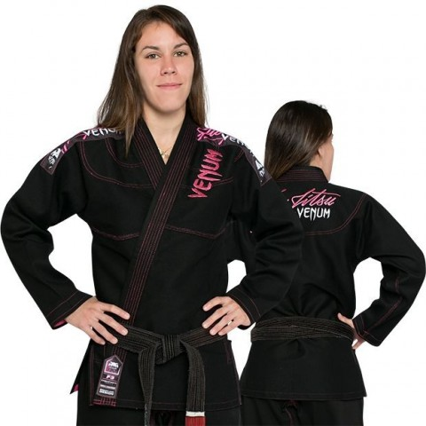 Kimono Venum Challenger 2.0 Mujer - Negro