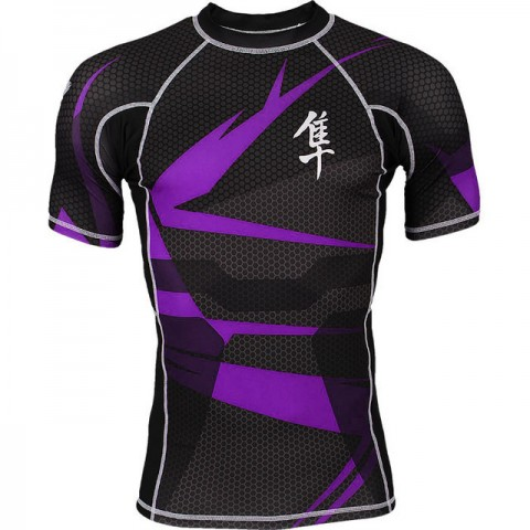 Rashguard Hayabusa Metaru Purple