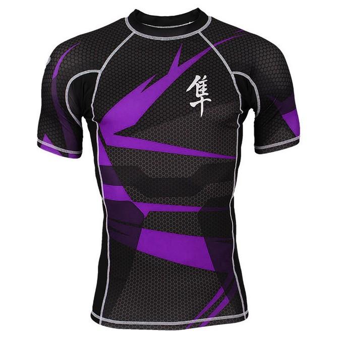 Rashguard Hayabusa Metaru Purple